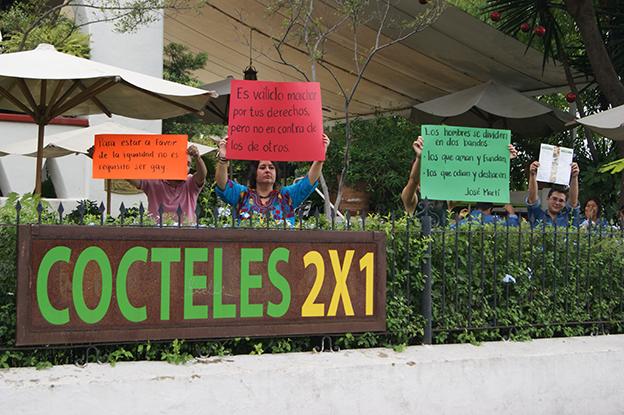 Contra los derechos de los otros. Foto © Juan Carlos Núñez.