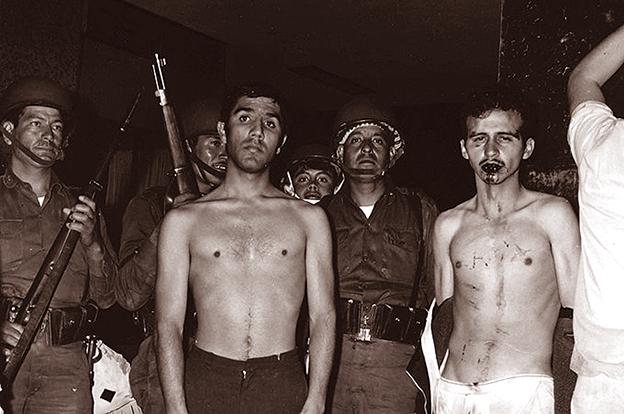 González de Alba, detenido por el Ejército la noche del 2 de octubre de 1968.