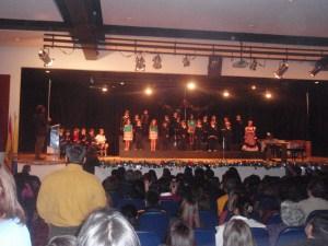 Festival de Navidad. Primaria 2012.