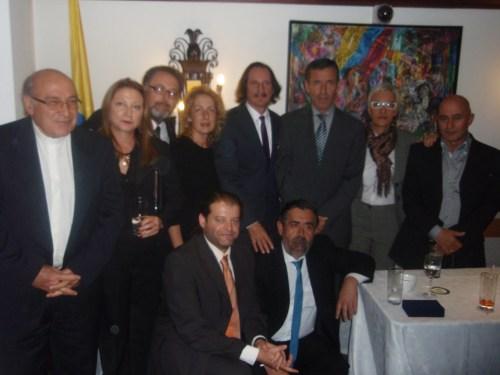 Daniel de Campos, estuvo acompañado por compañeros y compañeras del CCEE Reyes Católicos