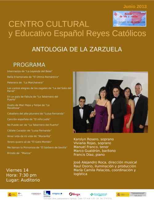CCEE Reyes Católicos. Junio de 2013
