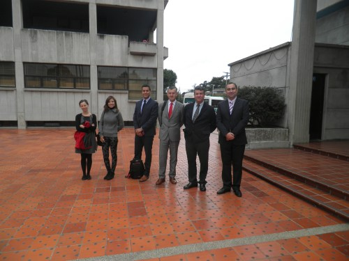 Visita del Subdirector General de Espacios Protegidos y Biodiversidad y la empresa EOSA, al CCEE Reyes Católicos