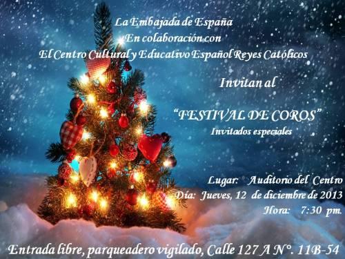 CCEE Reyes Católicos. Concierto de Navidad 2013