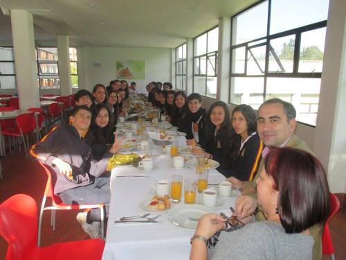 CCEE Reyes Católicos. Desayuno