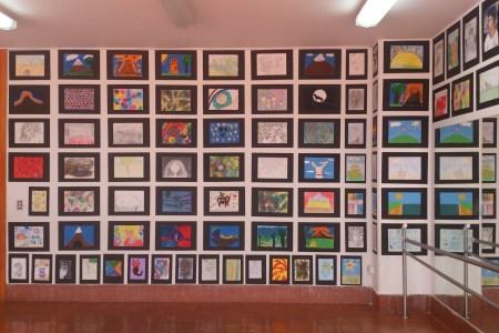 Exposixión de trabajos realizados en el Taller de Artes de Diego Villegas