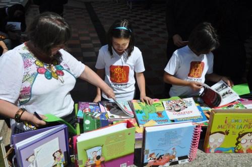 CCEE Reyes Católicos. Feria del Libro