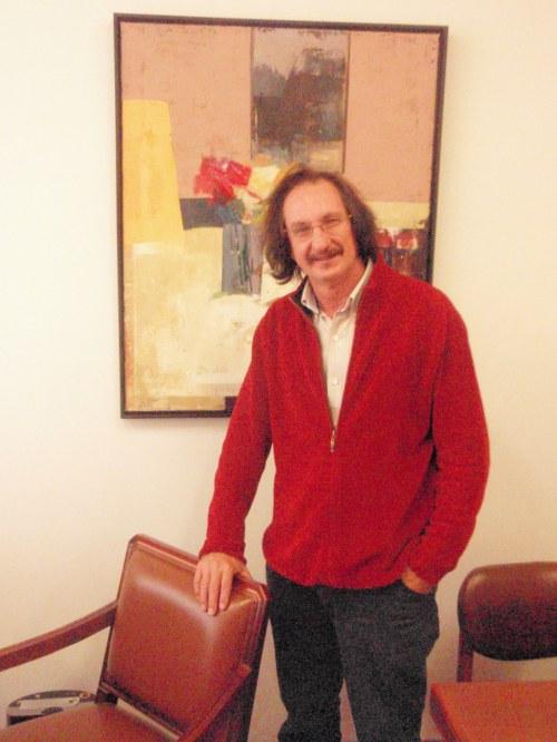Daniel de Campos, pintor y catedrático de Dibujo. Personaje Cultural de Colombia de 2013
