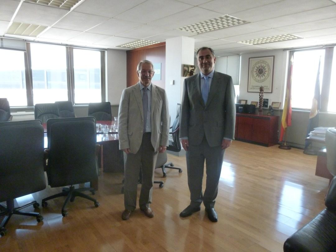 Alejandro Tiana Ferrer y Luis Fernández López