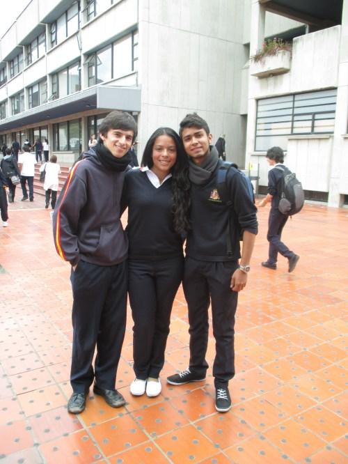 Gabriel, Valentina y Luis Felipe, las tres candidaturas a  Personería para el Curso 2014-15