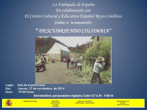 CCEE Reyes Catolicos. Exposicion fotografia Colombia