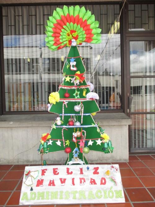 Àrbol de Navidad ganador de sectores profesionles (Administración)