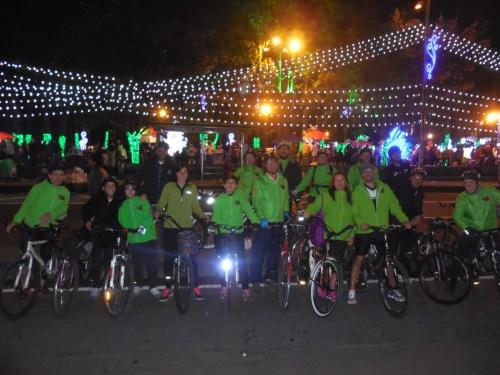 Foto de grupo del club ciclista Reyes Católicos.