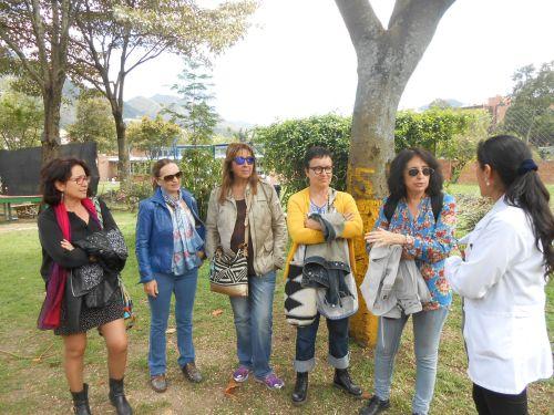 Grupo del profesorado de Educación Infantil del CCEE Reyes Católicos.