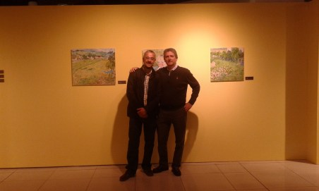 Los profesores Juan Manuel Boronat y Julio Manuel Pérez Fraile.