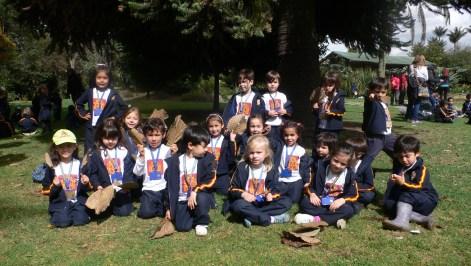 Foto de uno de los grupos.