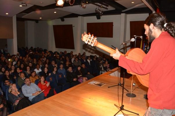 Aspecto del auditorio del CCEE Reyes Católicos.