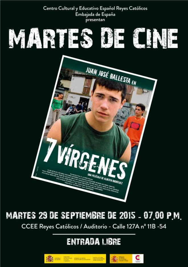 ccee reyes catolicos.martes de cine español
