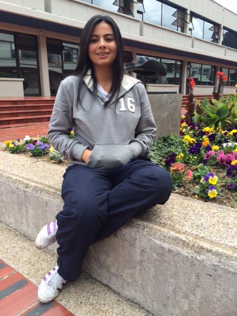 María Alejandra Parra Díaz, Personera de estudiantes del curso 2015-2016