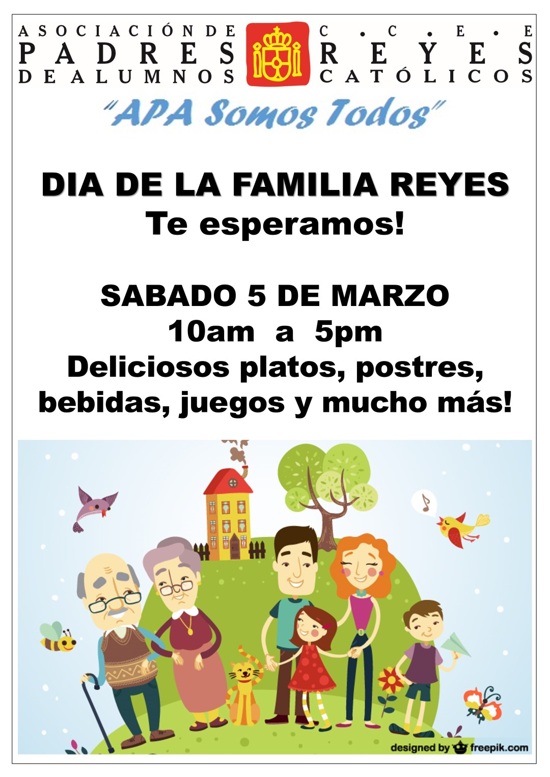 Invitación Día de la Familia