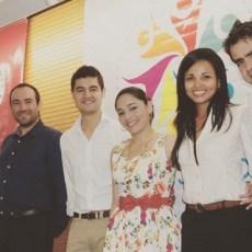 Francisco Pérez Davia con otros participantes