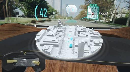 Nissan presenta la tecnología concepto Invisible-to-Visible en
