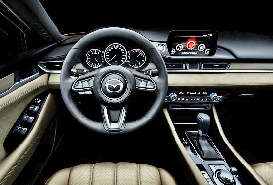 Mazda 6_interior