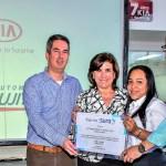 Kia es galardonado en Barranquilla por su servicio al cliente