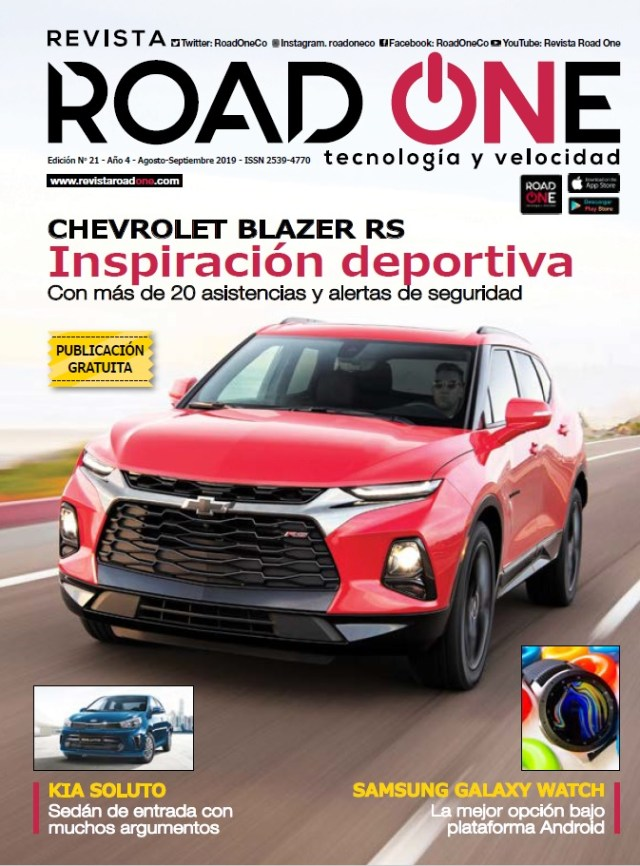 Portada Road One Colombia #21