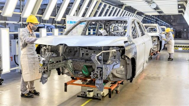 Renault chine plant