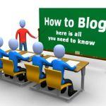 La estructura de un blog podria dividirse en los siguientes elementos: