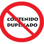 Contenido Duplicado gravemente penalizado