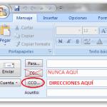 Enviar Email a varios Destinatarios con Copia Oculta- ¿Cómo un Error se puede convertir en oportunidad?