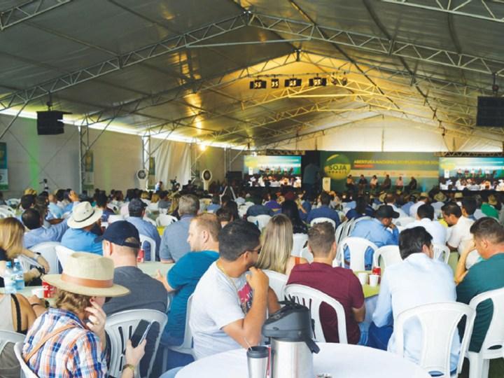 Abertura nacional do plantio de soja é realizada em Vilhena