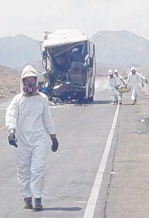 monitoreo de materiales peligrosos