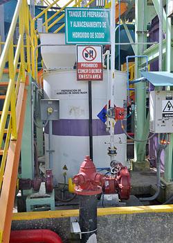 Manejo de cianuro en La Zanja