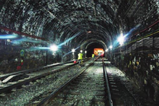 Ubicación dentro del paso subterráneo