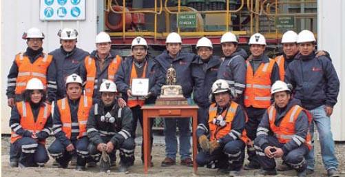 Premio y trabajadores de Austria Duvaz