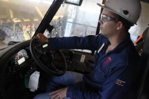 Manejo seguro de camiones de carga
