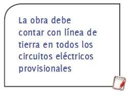seguridad en la construcción y linea de tierra en circuitos eléctricos