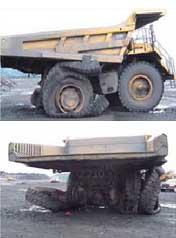 Impacto de los rayos en minería