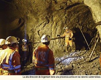 La gerencia participa en las actividades en argentum