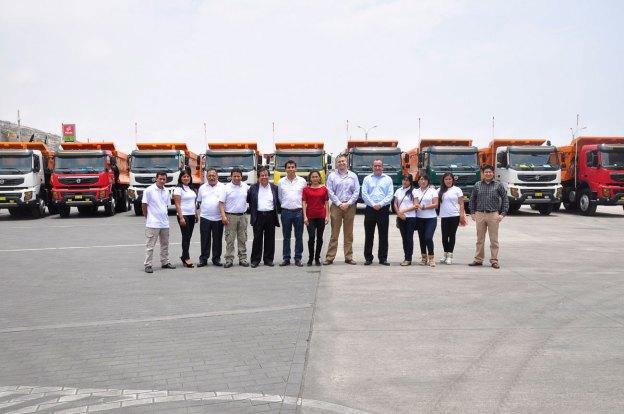 Volvo comercializa camiones FMX