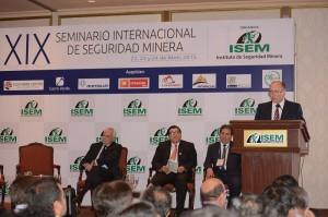 Inauguracion de Seminario de Seguridad Minera