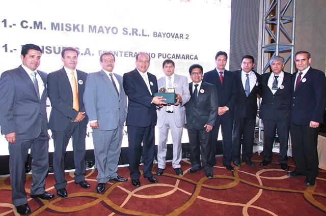 Ganador (no hay orden de jerarquía con otros ganadores): Minsur-Pucamarca