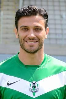 Daniel Rossi com a camisa de seu atual clube, o FK Jablonec (Foto: Facebook FK Jablonec)
