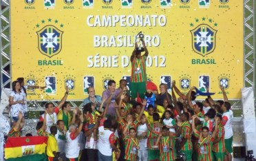 Comemorar, verbo que virou rotina no Sampaio Corrêa.