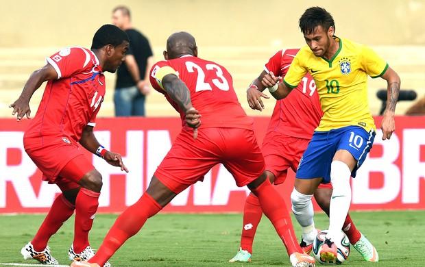 O amistoso  entre Brasil e Panamá em Goiânia, poderia ser em Fortaleza e pela Copa do Mundo. (Foto:  globoesporte.com)