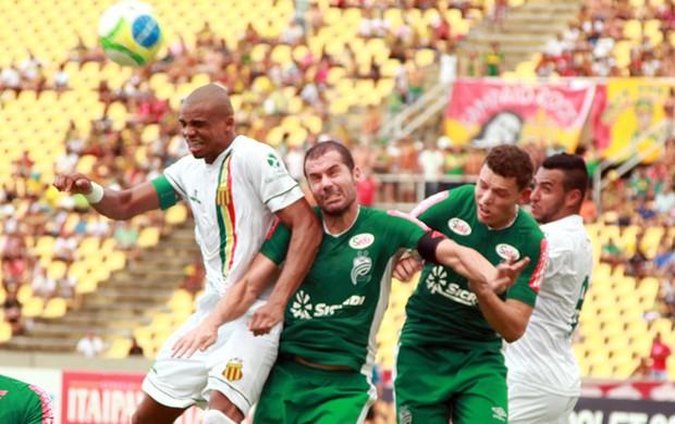 Vai ter Sampaio x Luverdense de novo na Série B, sim! (Foto: Paulo de Tarso Jr./Imirante.com)