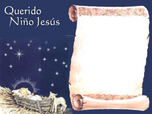 Resultado de imagen para escribir cartas al niño jesus