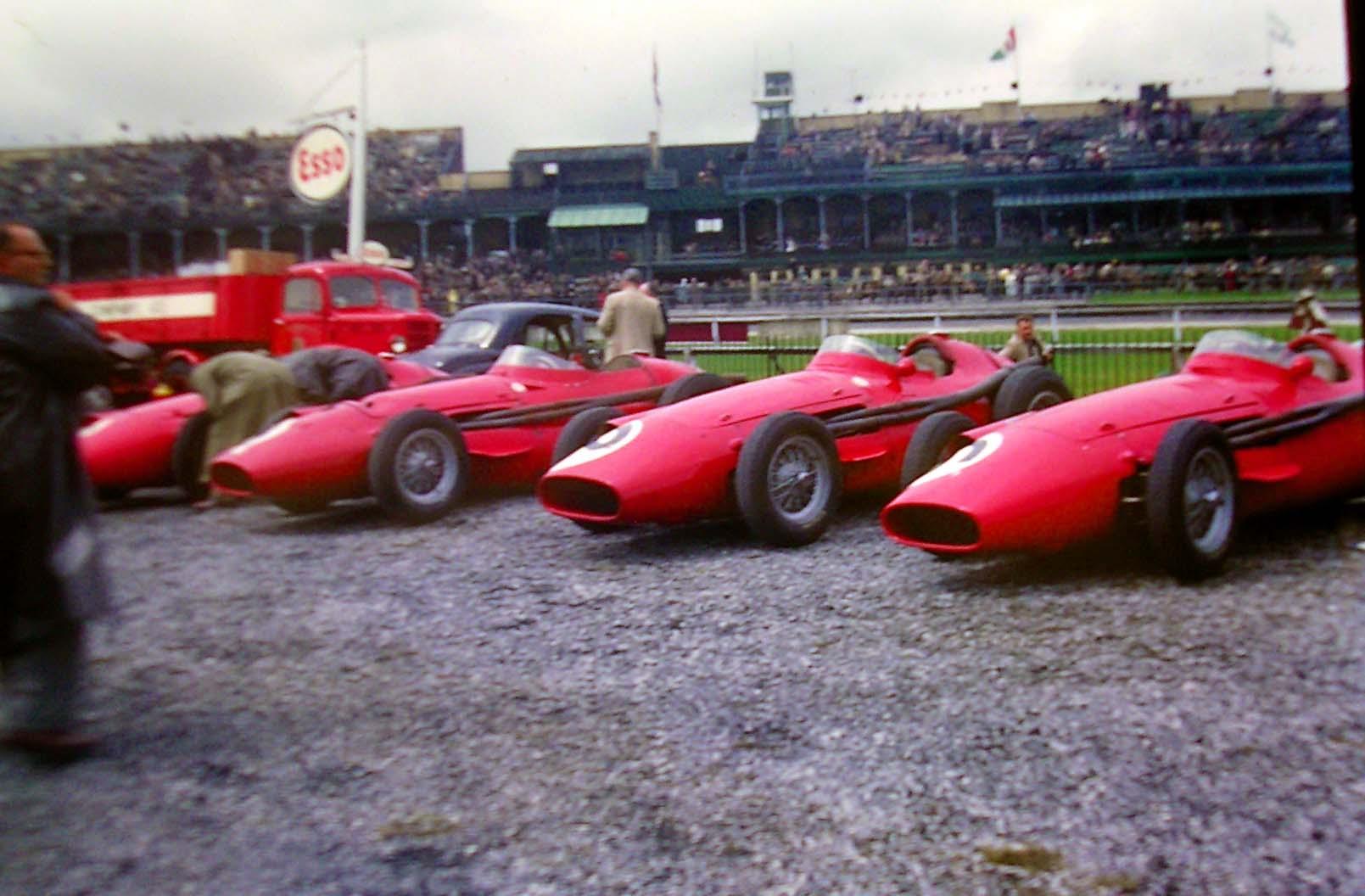 Maserati 250fs Gran Premio Gran Bretaña 1957